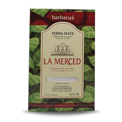 Yerba Mate barbacua 500 gr LA MERCED