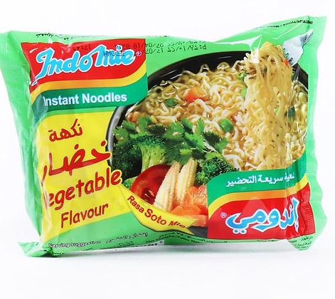 """Nouilles instantannées """"saveur légumes"""" INDOMIE 80 grx5"""