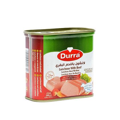 luncheon de boeuf 340 gr durra