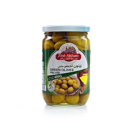 Olives vertes entières ZINE 600gr