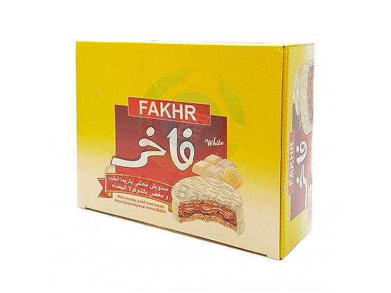 Boite de 24 biscuits FAKHER / chocolat blanc