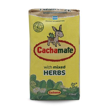 Yerba Mate mixed herbs 500 gr CACHAMATE