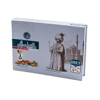 Assortiment de baklawas qualité premium diet 400 gr AL SULTAN