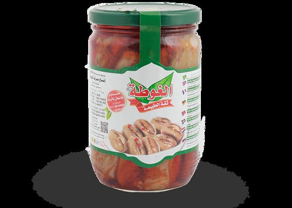 باذنجان محشي (مكدوس) الغوطة 600 غرام