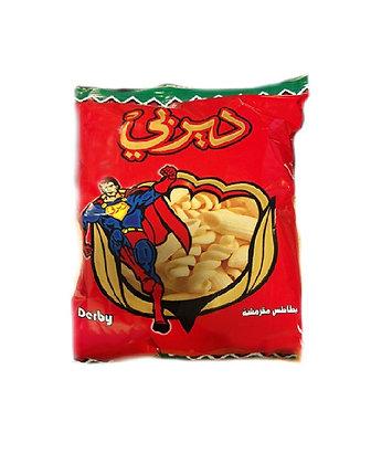 Carton de Chips DERBY goût paprika X 18