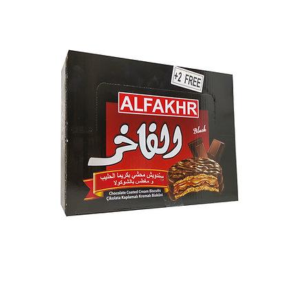 Boite de 24 biscuits FAKHER / chocolat noir