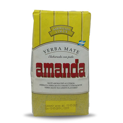 Yerba Mate saveur citron 500 gr AMANDA