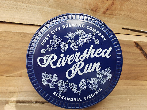 2021 Rivershed Run Finishers Coaster