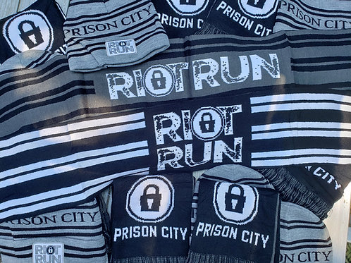 Riot Run 5k Knit Scarf