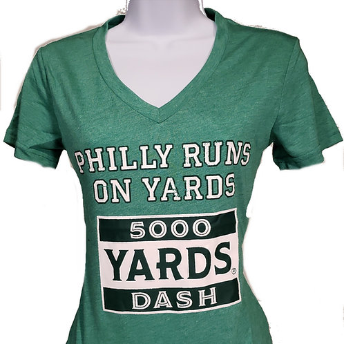 5000 Yards Dash - throw backs
