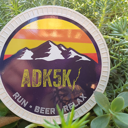 2019 ADK 5k Finishers Coaster
