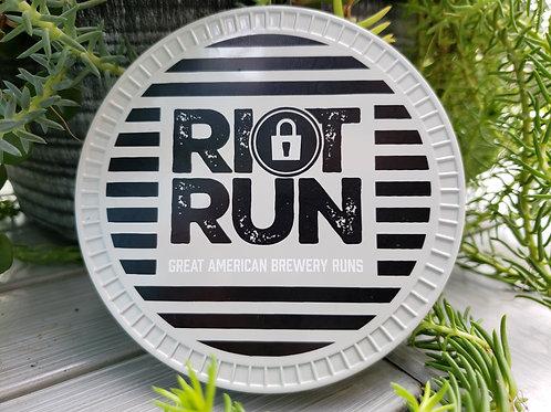 Riot Run 5k Finishers Coaster