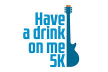 Have a Drink on Me 5k logo