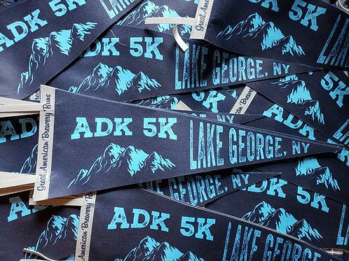 ADK 5k Race Pennant