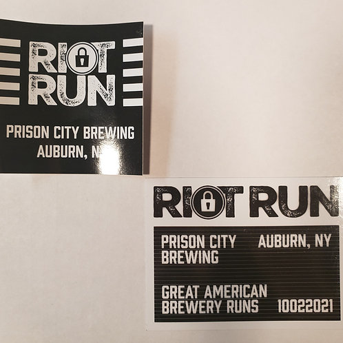 Riot Run Sticker and Magnet bundle