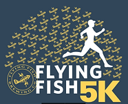 Flying Fish 5k Logo - GABR