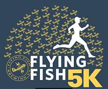 Flying Fish 5k Logo - GABR