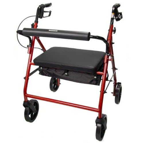 Mckesson Bariatric 4 Wheel Rollator