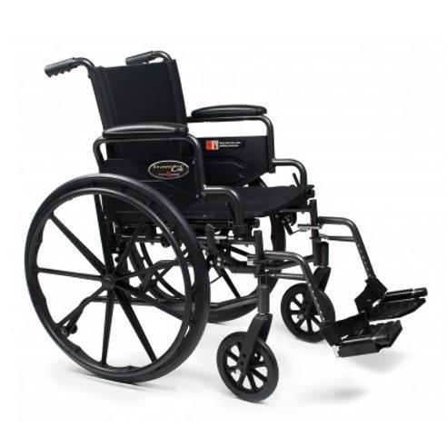 Everest & Jennings Traveler L4 Lightweight High Strength Wheelchair