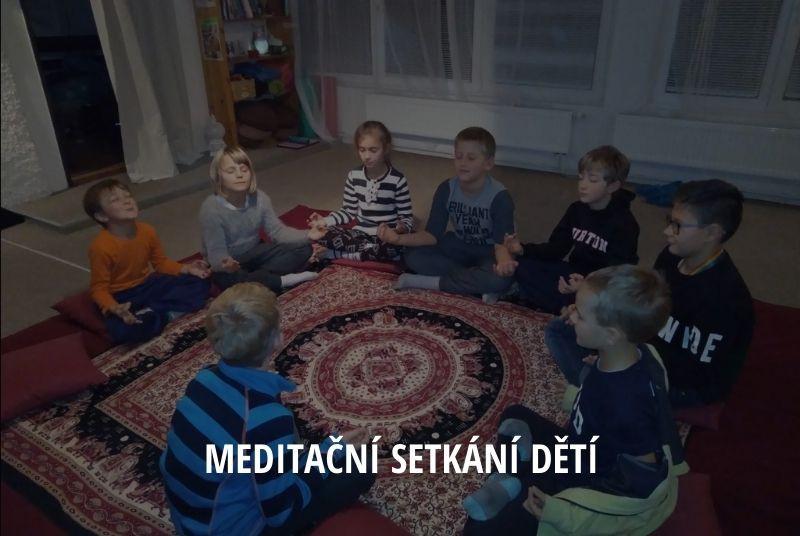 Meditační setkání dětí Dobříš