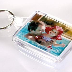 Photo keyring with image of your choice - Set I