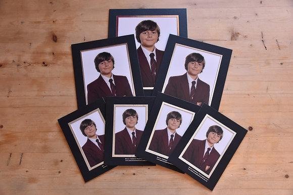 School Photographs - Set B - 1 10x8, 2 8x6 & 4 6x4