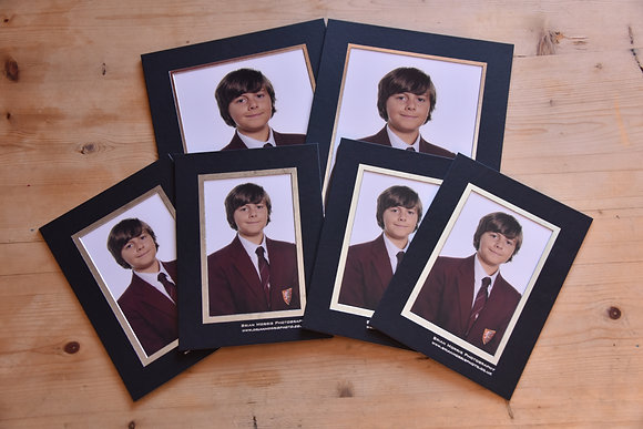 School Photographs - Set A - 2 7x5 & 4 6x4