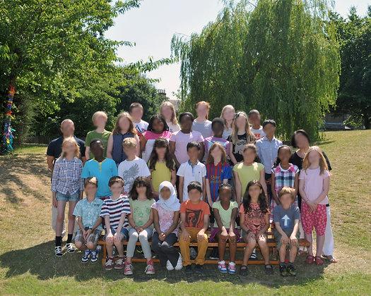 School Class Photograph. 7x5