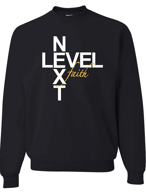 Next Level Faith Crew-Neck Sweatshirt (Black)