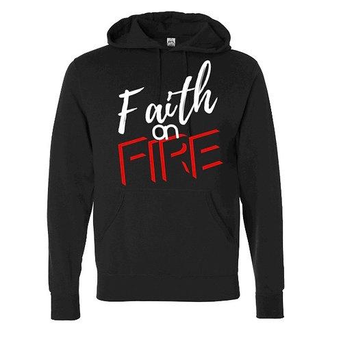 Faith on Fire Hoodie