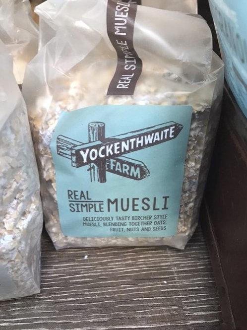 Yockenthwaite farm granola and Muesli