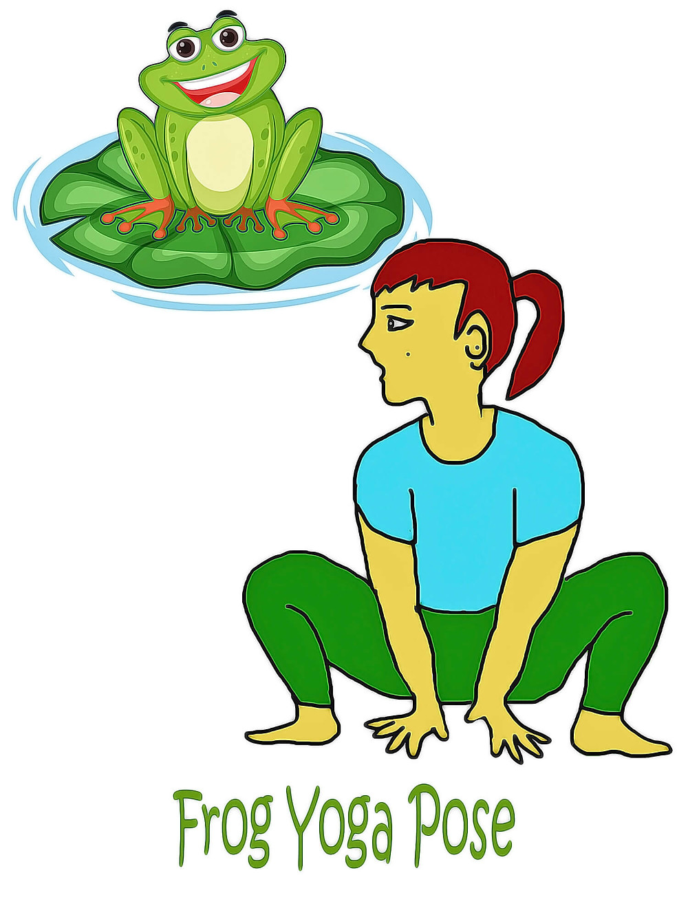 downward-facing-frog