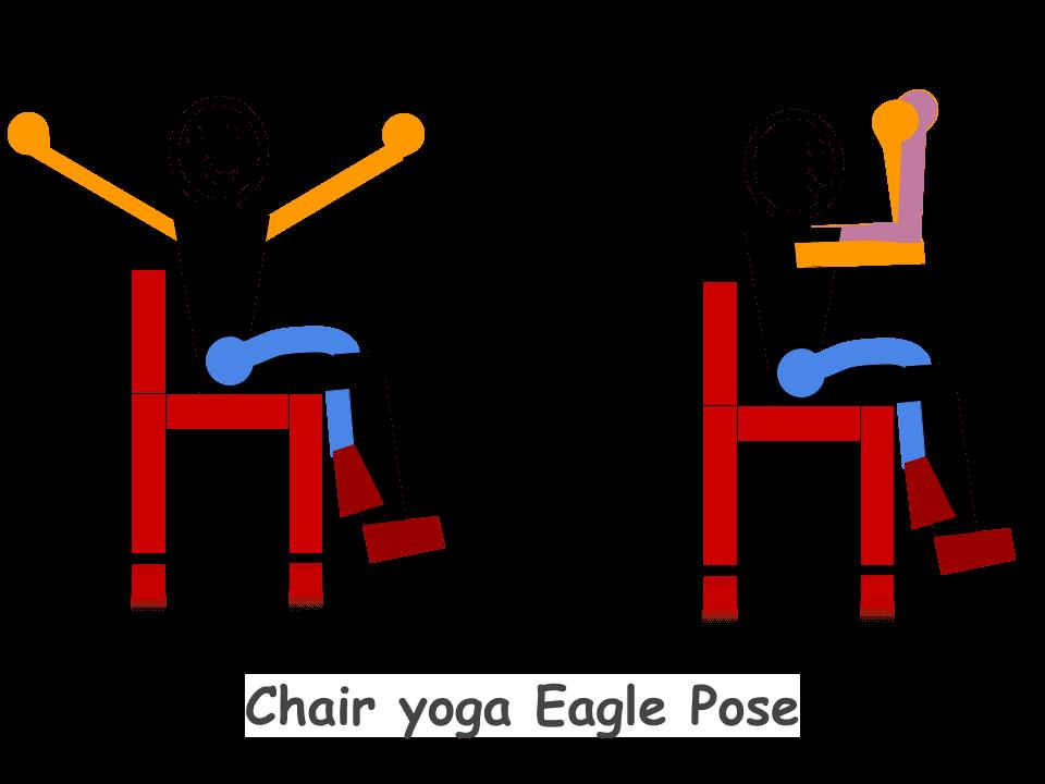 Chair-yoga-Eagle-pose