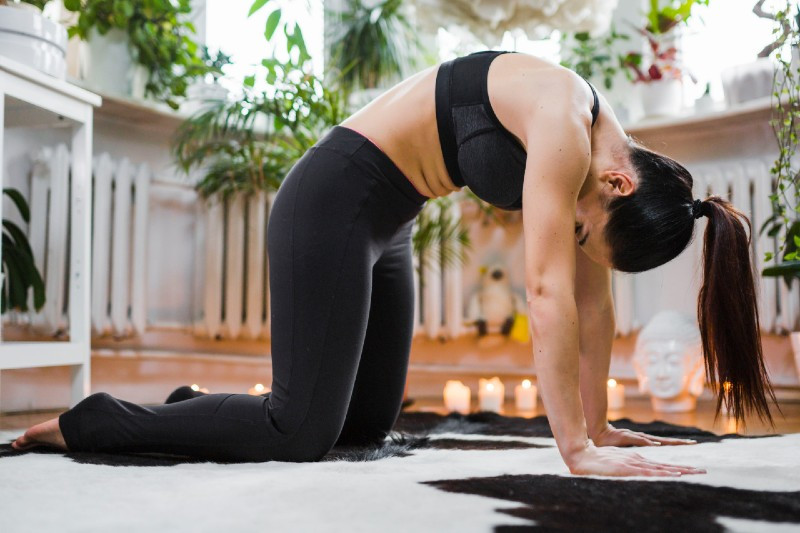 evening yoga sequence