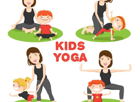 60 Easy Yoga Poses For Kids