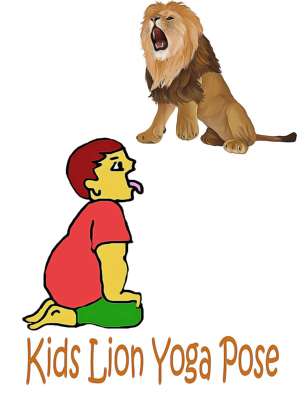 lion-yoga-pose