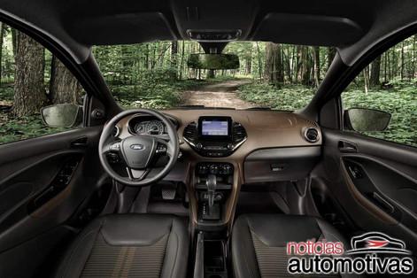 Aventureiro, Ford Ka Freestyle chega com seis airbags por R$ 63,5 mil