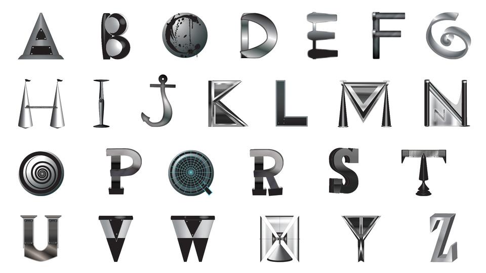 Scrap Metal Font