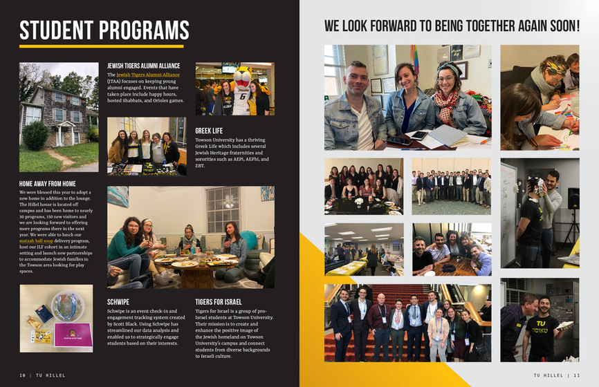 Towson Hillel 2020 Annual Report