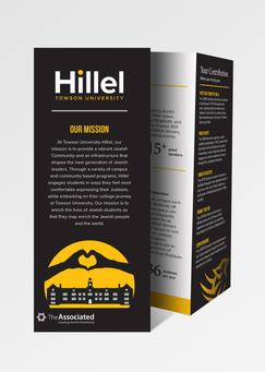 TU Hillel One-Sheet