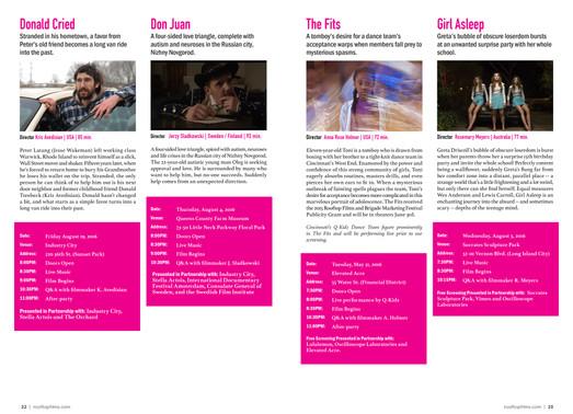 Feature Films Spread