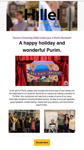 Purim, 2020