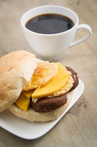 NEW! Breakfast Sandwich