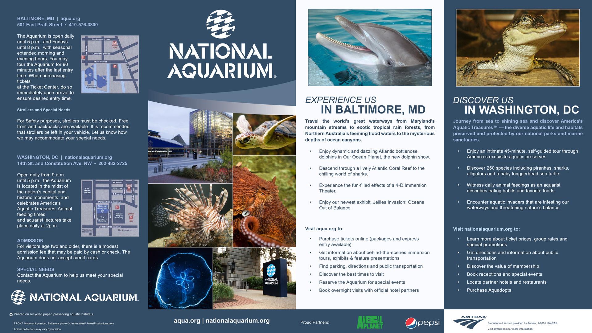 National Aquarium Brochure
