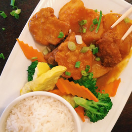 Bamboo Curry Chicken