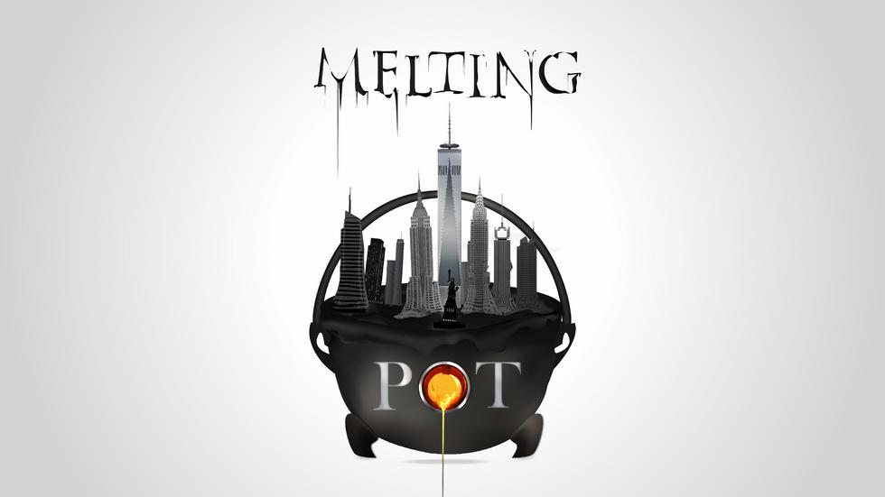 Melting Pot   Word Shape