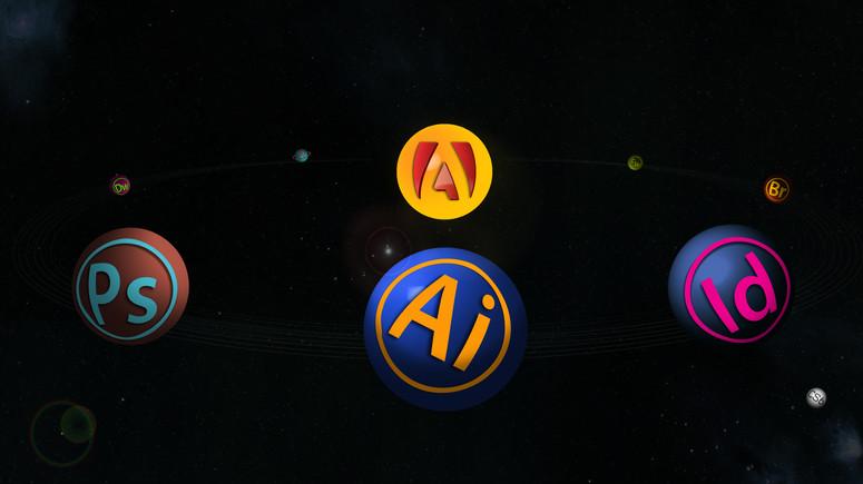 Adobe CS6 Infographic