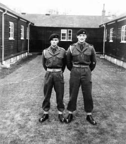 Durham Army days