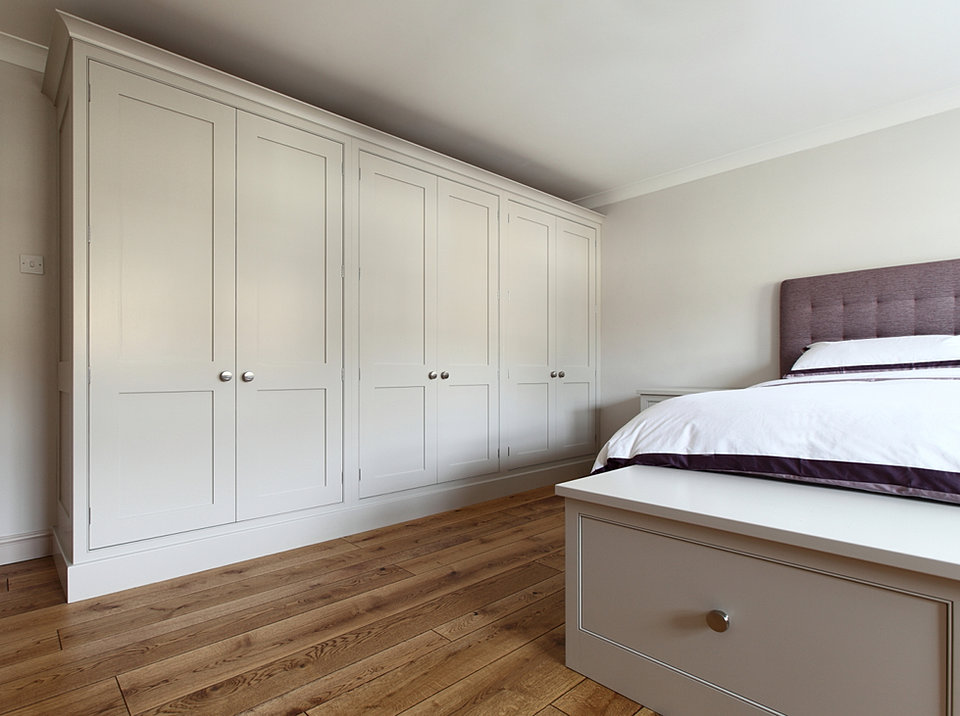 Bespoke painted bedroom furniture. Jamie Robins   Bespoke Kitchens  Bedrooms and Furniture   Cheshire