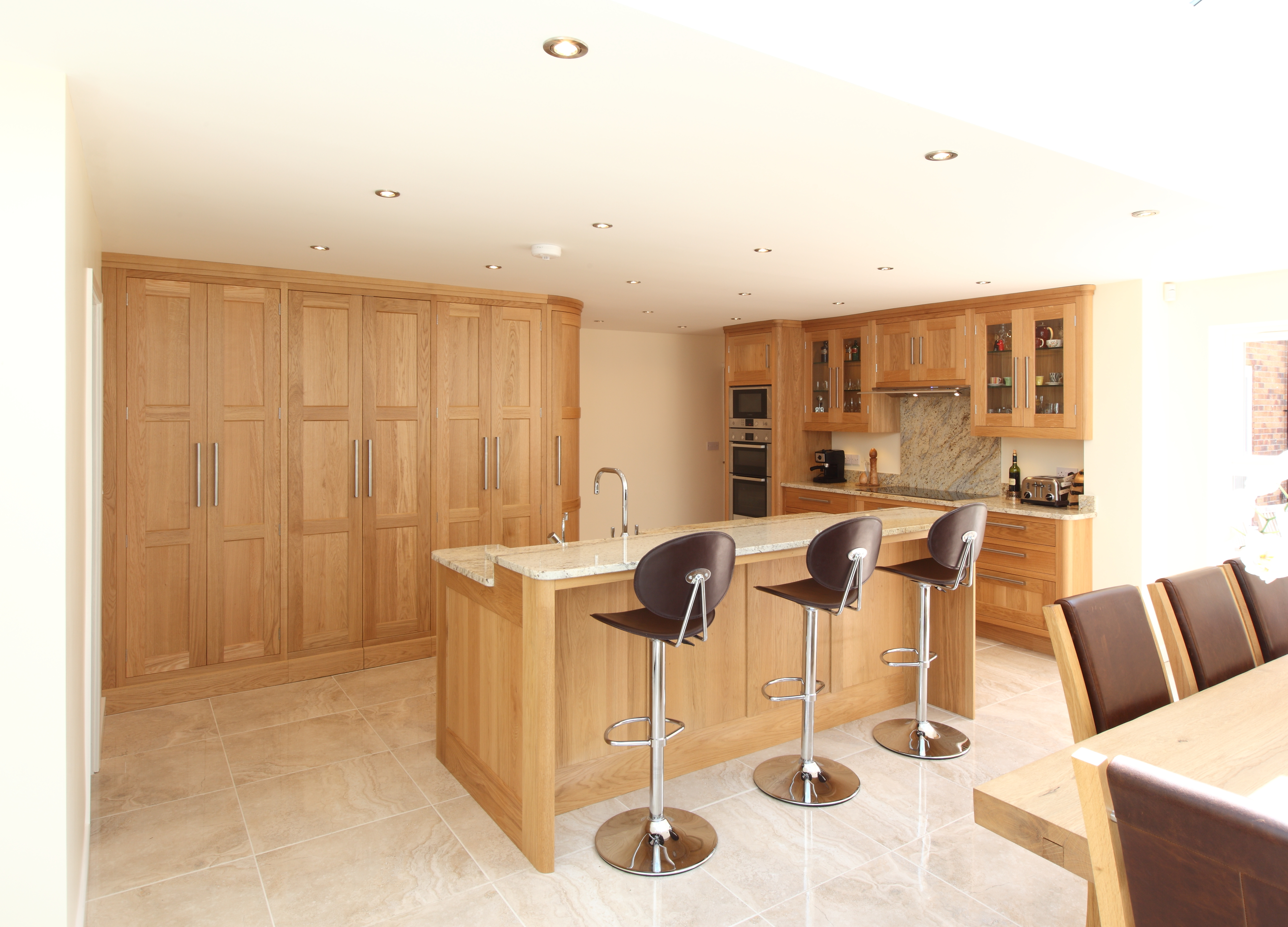 Solid Oak handmade kitchen